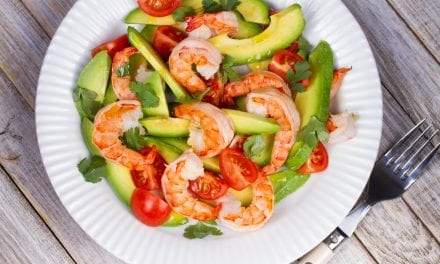 Instant pot Avocado and Shrimp Salad