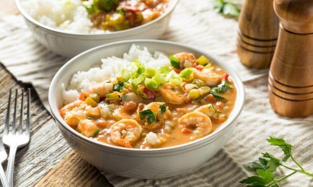 Instant pot Shrimp Etouffee
