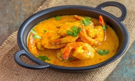 Instant pot Indian Butter Shrimp