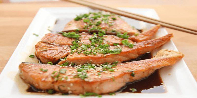 Instant Pot Vietnamese Caramel Salmon