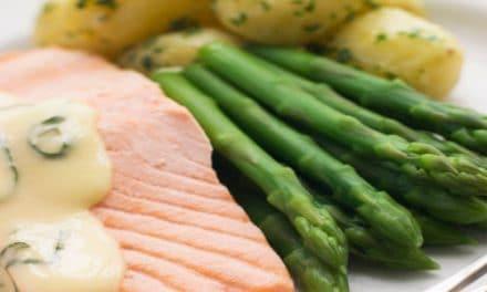 Instant pot Poached Salmon