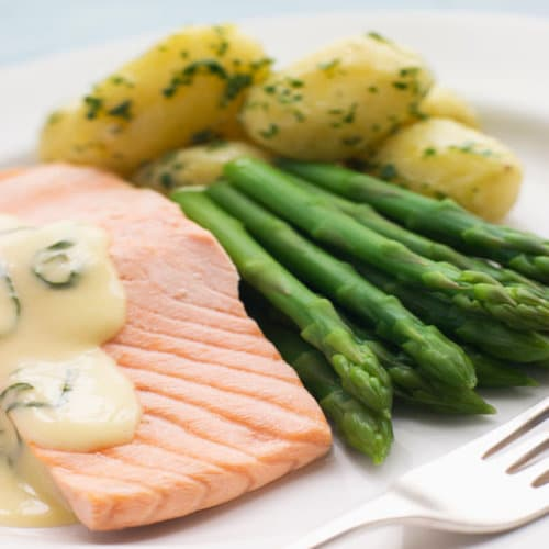 Instant pot Poached Salmon