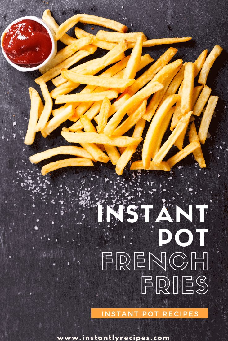 Instant pot french fries pin