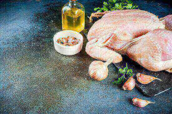 whole chicken, canola oil,
