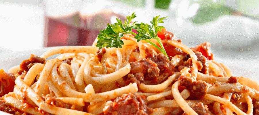 How to make spaghetti with marinara sauce