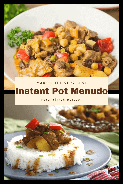 Instant Pot Menudo pin