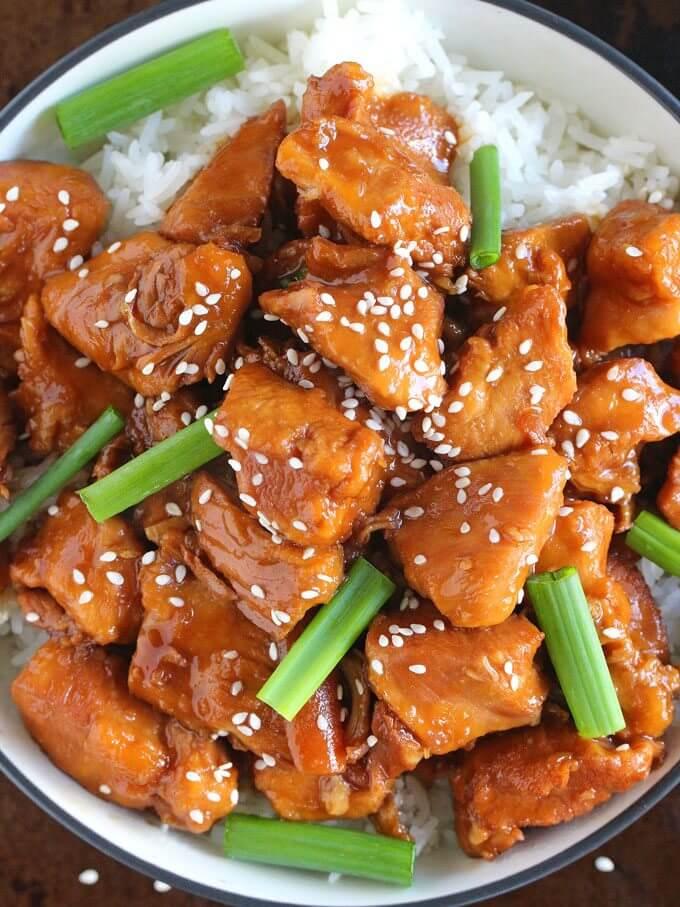 mongolian chicken in instant pot